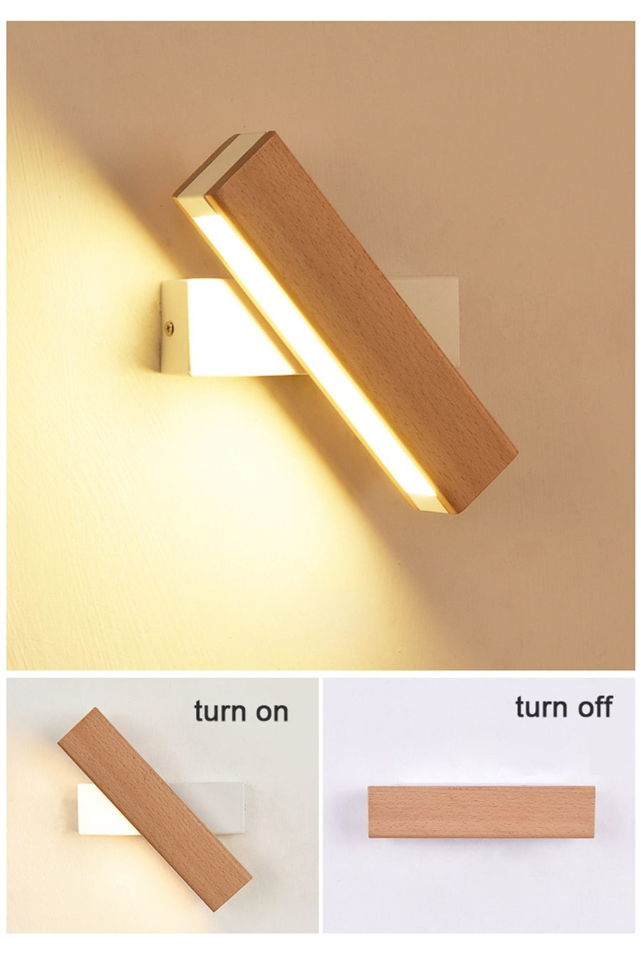 Rotated LED Lamp