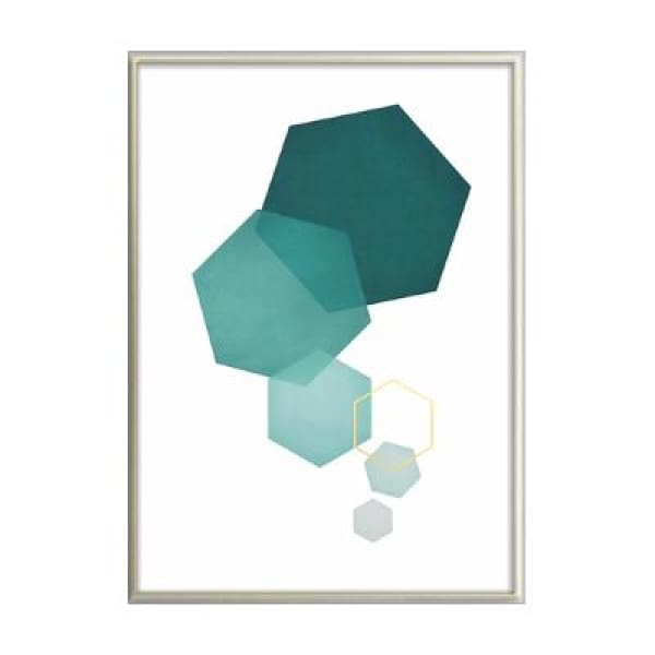 Scandinavian Wall Art Poster - 10x15 cm no frame / Geometry - Wall Poster