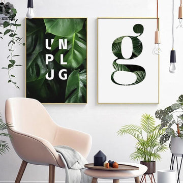 UNPLUG Posters - Wall Poster