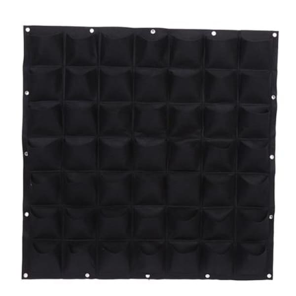 Vertical Garden grow bags - 49 Black - gardening