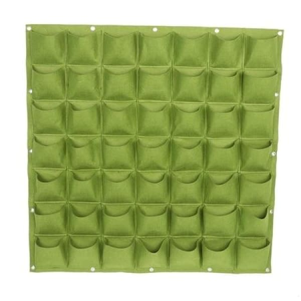 Vertical Garden grow bags - 49 Green - gardening