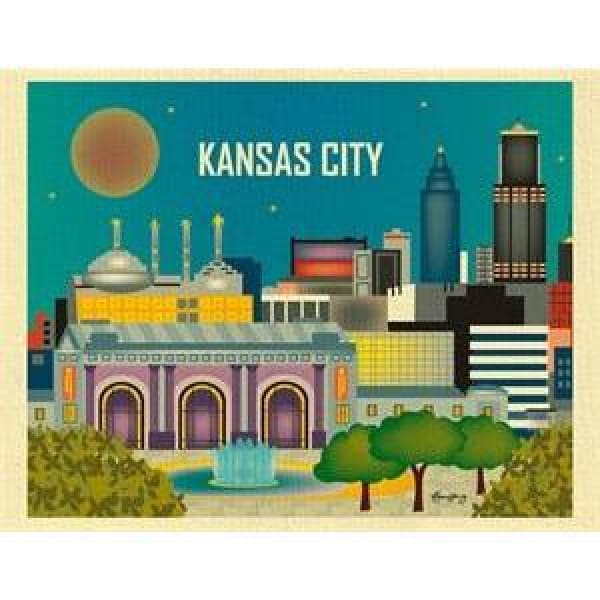 Vintage City Posters - Wall Poster