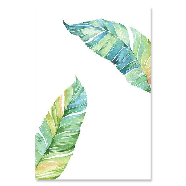 Watercolor Style Plant Poster - 13x18cm No Frame / 01 - Wall Poster