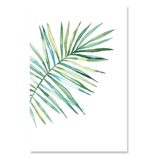 Watercolor Style Plant Poster - 13x18cm No Frame / 05 - Wall Poster