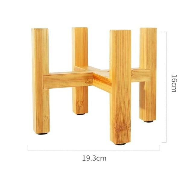 Wooden plant stands - United States / C - home decor pots