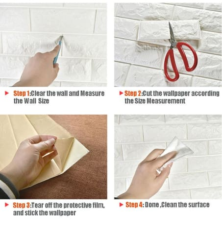Adhesive Brick Wall Sticker