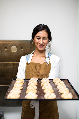 Cortney Morentin, founder of La Reinita bakery in Portland, Oregon