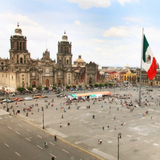 zocalo historic downtown mexico city