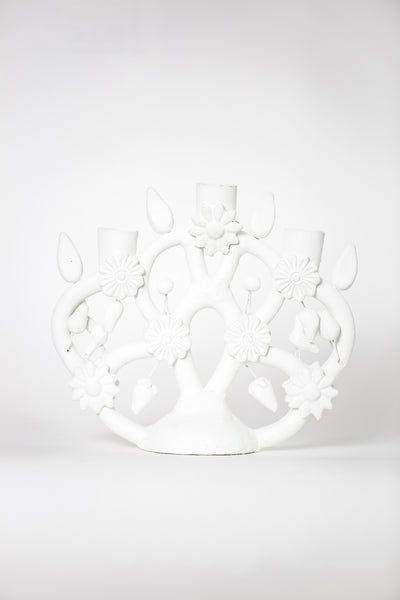 white tree of life candelabra