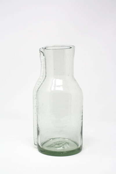 Aleta Handblown Glass Pitcher