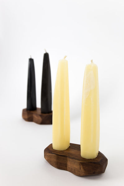 Candles With Tzalam Base