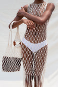 macrame summer bag