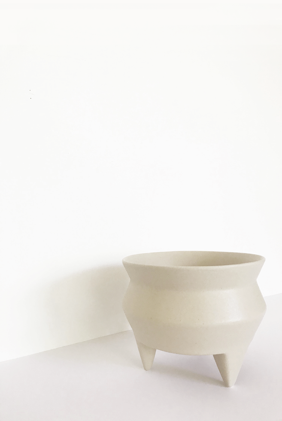Tripod Ceramic Planter