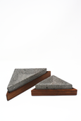 wood and volcanic rock containers made in Mexico