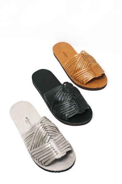 Mexican leather huaraches woven sandals summer sandals