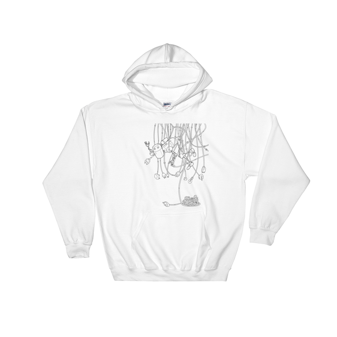 0.2 - The Naughty Robots - Fund A Founder Limited Edition Unisex Hoodie