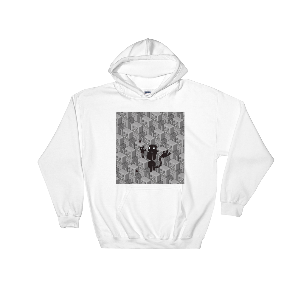 0.2 -  The Naughty Robots - Black Founders Matter Limited Edition Unisex Hoodie