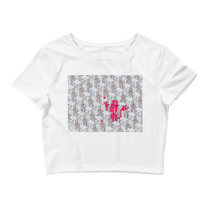 0.2 - The Naughty Robots - Fund Female Founders Limited Edition Cropped Tee