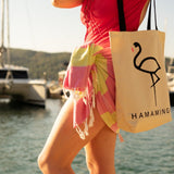 Carnival Hot Pink and Lime Green - HAMAMINGO