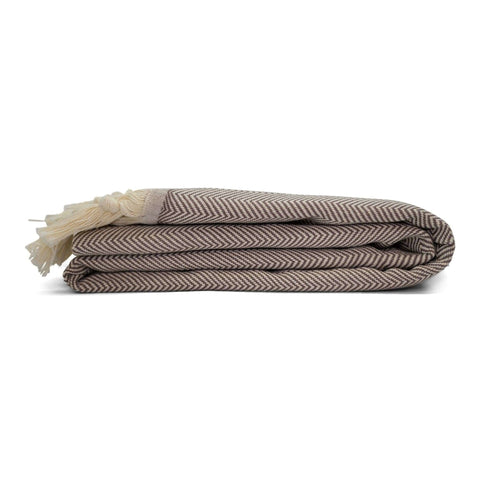Herringbone Beach Blanket Coffee - HAMAMINGO