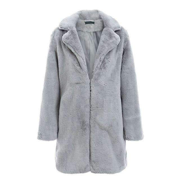 Alison Long Faux Fur Coat - Brumont