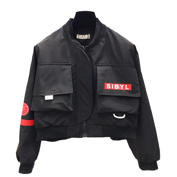 """Rejects"" Bomber Jacket"