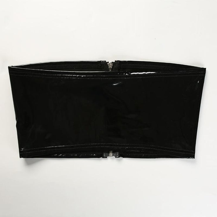 Cary Leather Crop