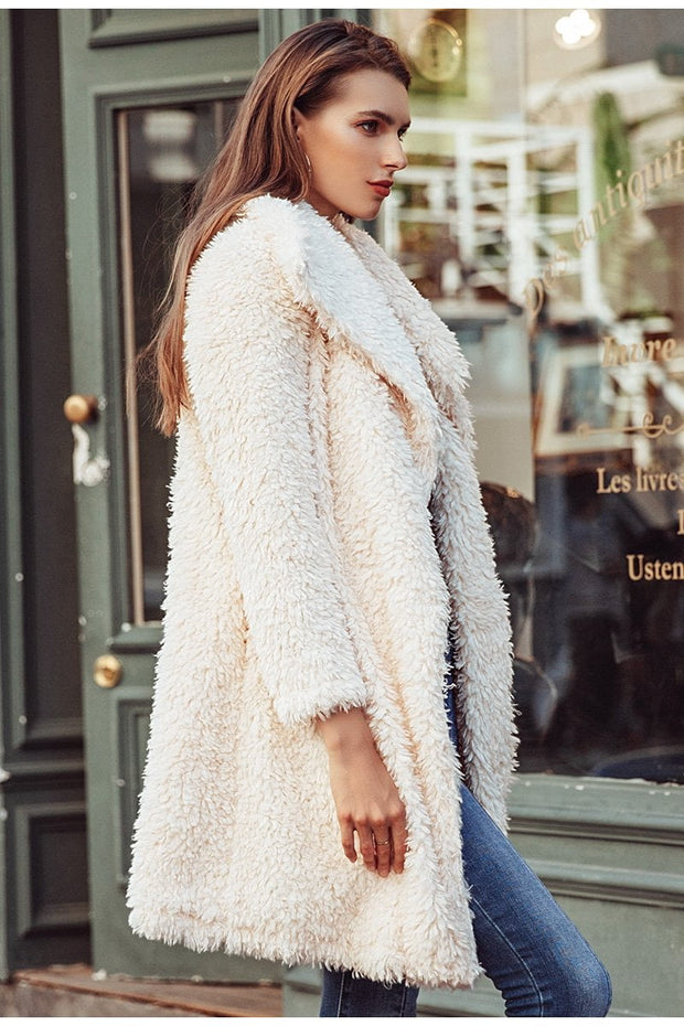 Viola Shaggy Fur Coat - Brumont