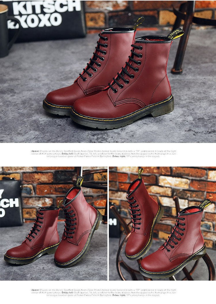 Zoe Leather Boots