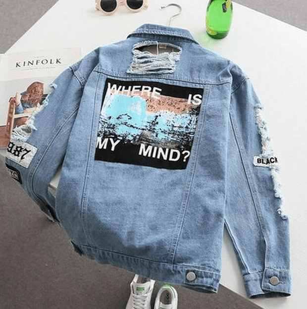 Where is my mind? Denim Coat