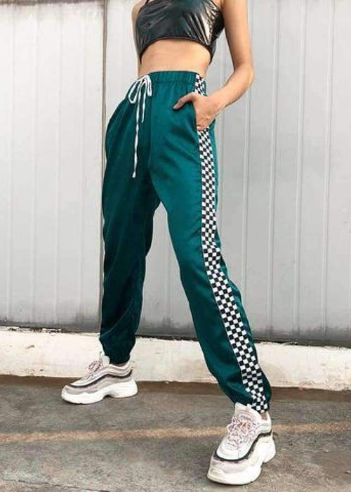 Alison - Checkerboard Pants - BRUMONT