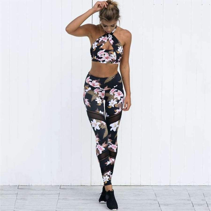 Bethany Fitness Top/Pants - Brumont