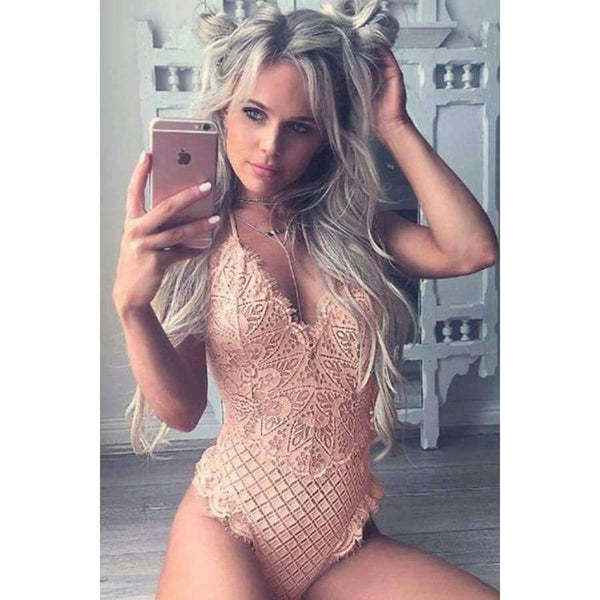 Champagne All Night Body Suit