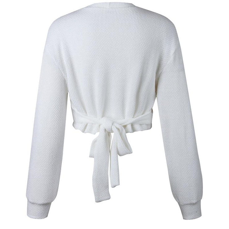 Roxy Knitted Sweater - Brumont