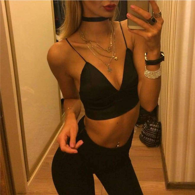 Kailey Crop top - Brumont