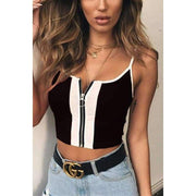 Kim Crop Top - Brumont