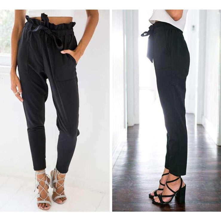 Lillian - Bow Tie Pants - Brumont