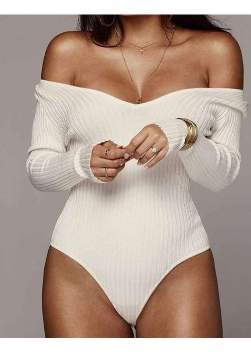 Macey Bodysuit - Off Shoulder - BRUMONT