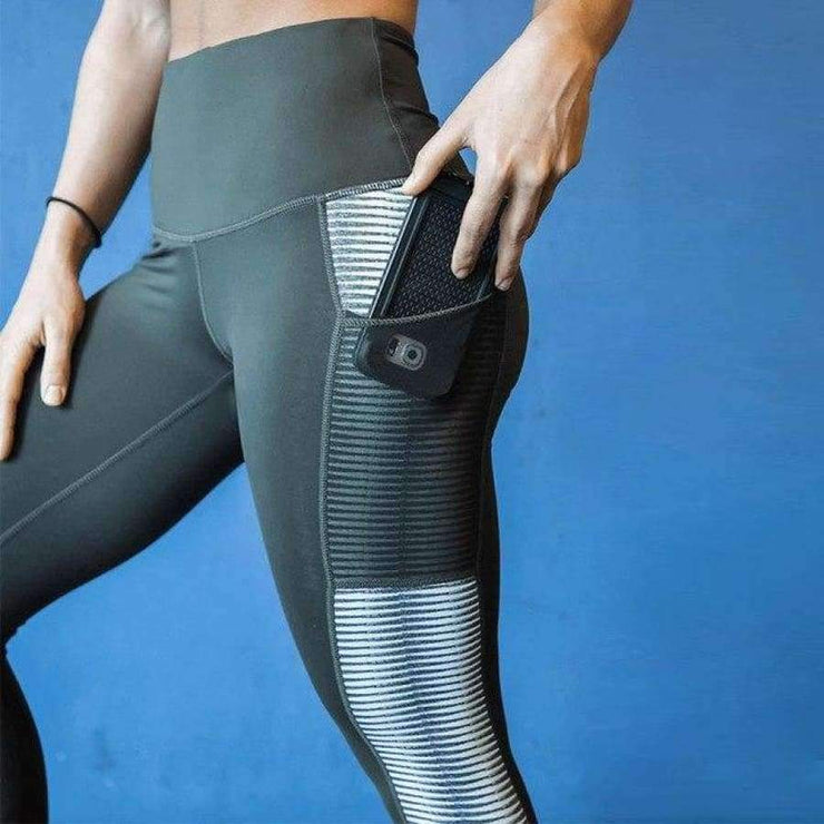 Mai - High Waist Leggings - Brumont