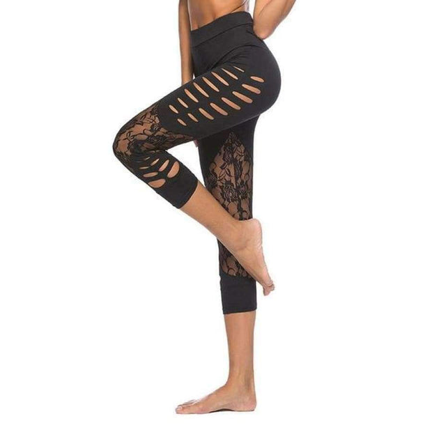 Nehla Lace Leggings - Brumont