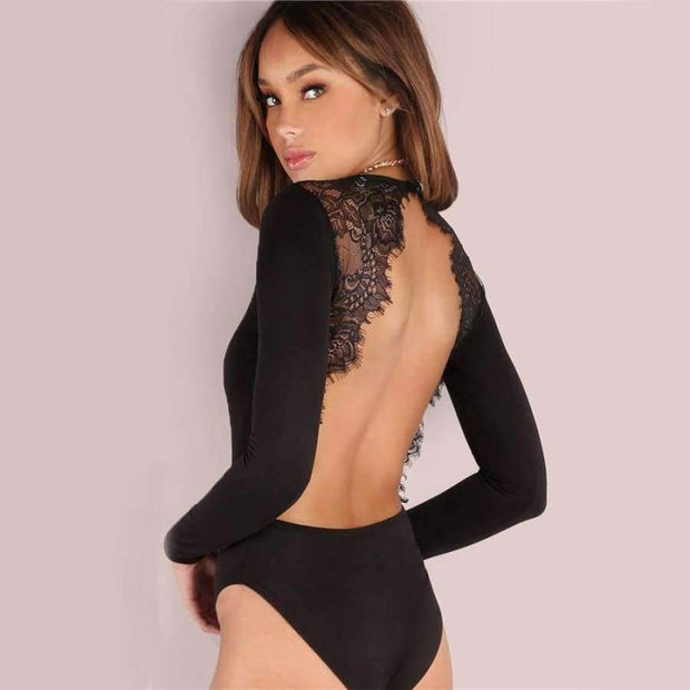 Perla Backless Bodysuit - Brumont