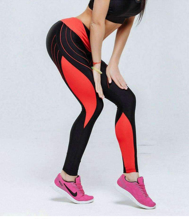 Erica High Waist Leggings - Brumont