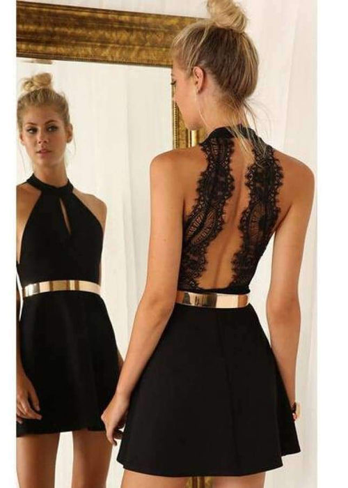Rebekah	Backless Dress - BRUMONT