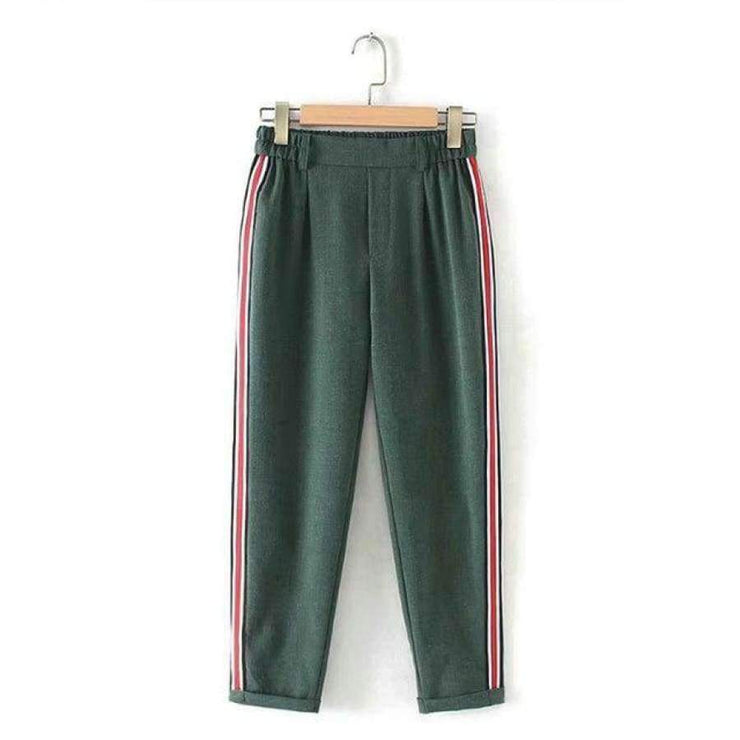 Shannon - Side Striped Pants - Brumont