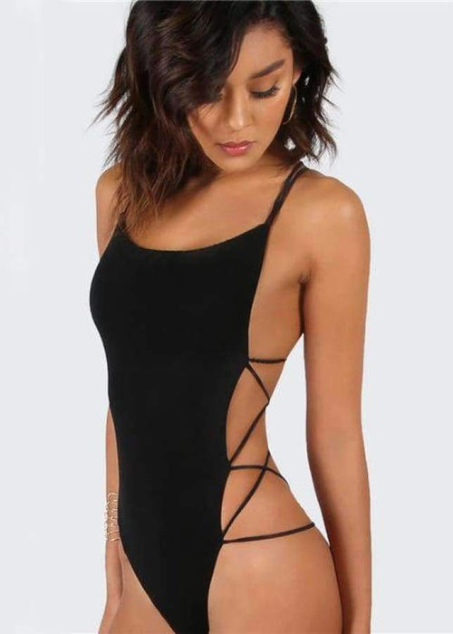 Taylor Backless Bodysuit - BRUMONT