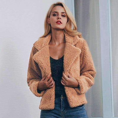 Elegra Short Teddy Coat - Brumont