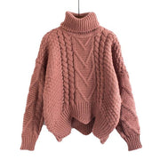 Mischa Loose Collar Sweater - Brumont