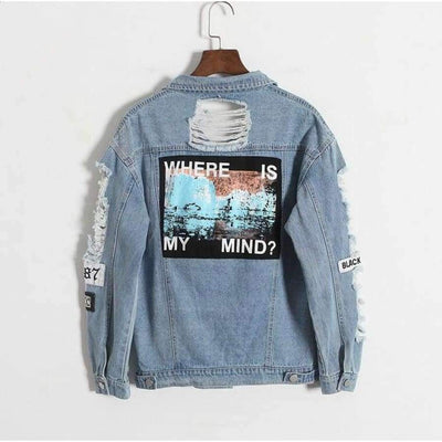 Where is my mind? Denim Coat - Brumont