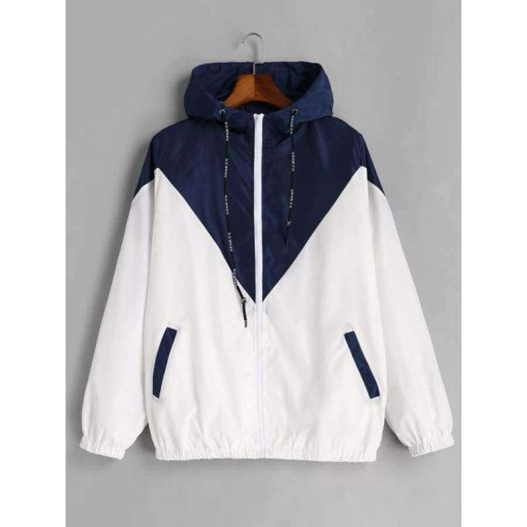 Zana Two Tone Windbreaker - Brumont