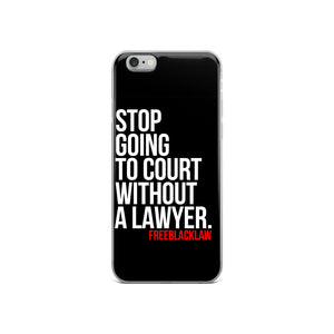 """Lawyer Up"" Phone Case"